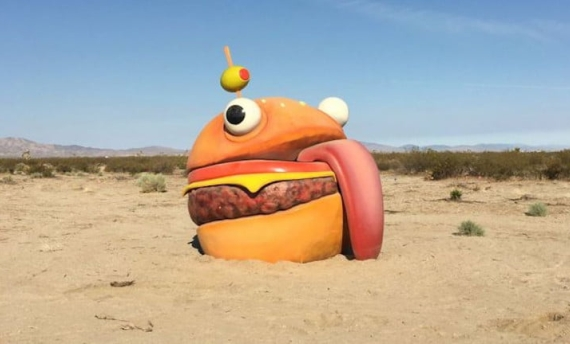 Fortnite durr burger