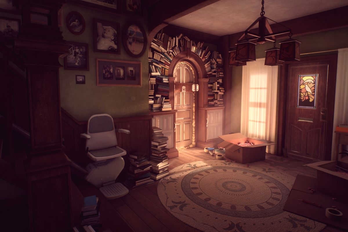 What Remains of Edith Finch gameplay footage