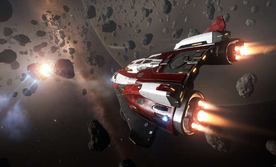 It appears that aliens are finally visiting Elite: Dangerous