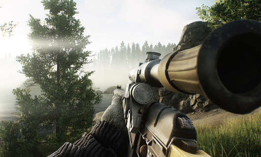 Long for the Woods thanks to fresh screens from Escape from Tarkov