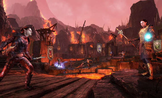 Check the Battlegrounds from The Elder Scrolls Online: Morrowind