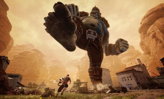 Iron Galaxy announced Extinction with giant boss battles