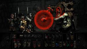 Fighting in Video Game Darkest Dungeon