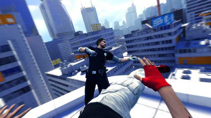 Mirrors Edge - Fighting