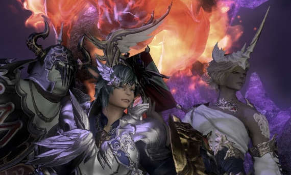There's no more time limit in the trial version of Final Fantasy XIV