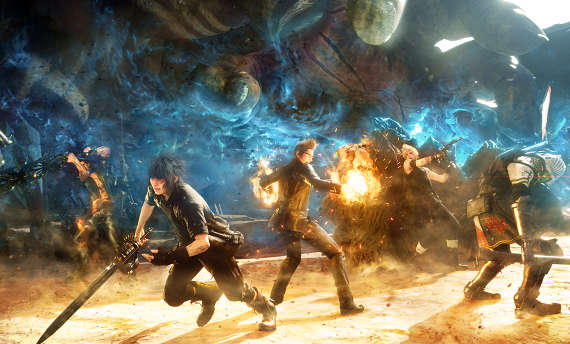 Check the first gameplay from Final Fantasy XV Spring Update