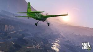 grand theft auto airplane