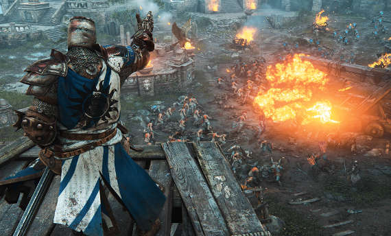 For Honor going free this weekend
