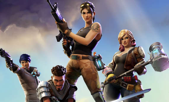 Fortnite crawls into Early Access