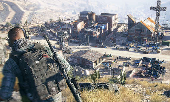 You will skydive into missions in Ghost Recon Wildlands