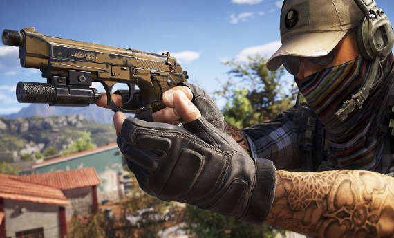 Beware the red dot in the Ghost Recon Wildlands
