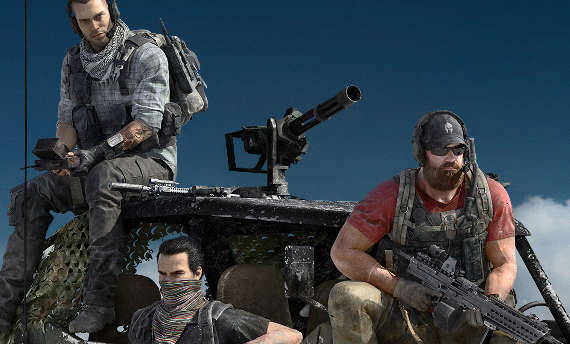 Listen to Ghost Recon Wildlands' guns