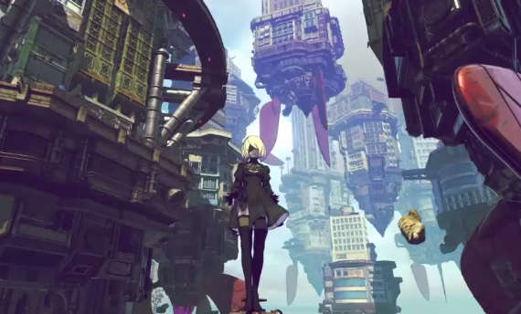 Check the NieR: Automata free DLC costume for Gravity Rush 2
