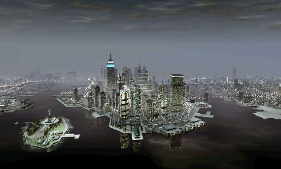 You'll visit Liberty City in Grand Theft Auto V