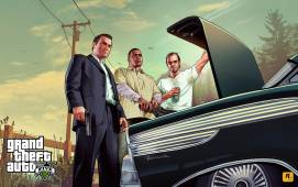 gta5 characters main artwork