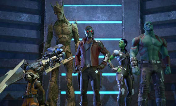 Telltale's first trailer for Guardians of the Galaxy is boring