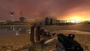 Half-Life 2 - gun