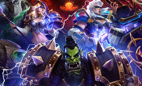 You can get 20 free characters if you log into Heroes of the Storm