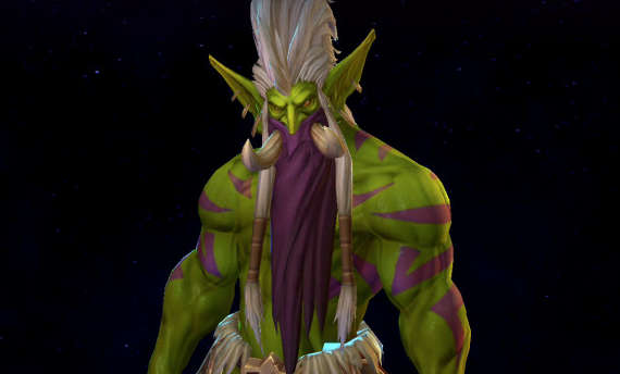 World of Warcraft's troll Zul'jin joins Heroes of the Storm