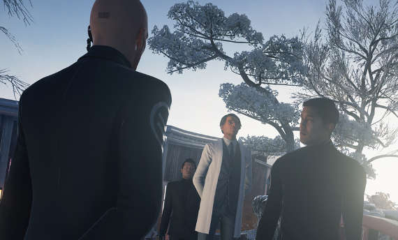 A lot is going on in Hitman's February updates