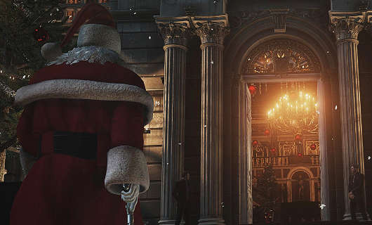 Agent 47 becomes a Killer Santa in the upcoming Holiday Content