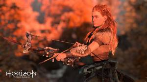 horizon zero dawn redhead huntress