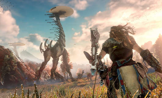 Horizon Zero Dawn invites you to discover the past
