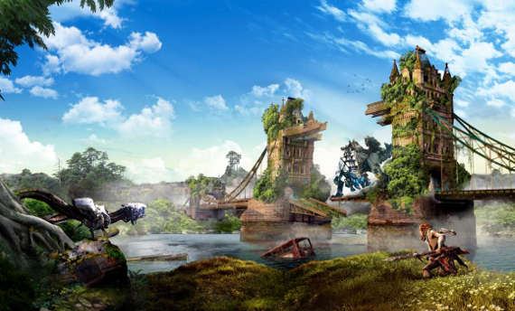 Check UK cities aged for Horizon Zero Dawn's world state