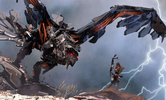 Horizon Zero Dawn monsters presented in new videos