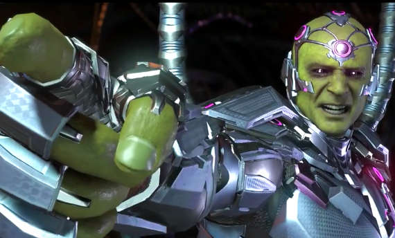 Brainiac is the funny man behind the chaos in Injustice 2