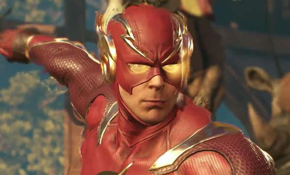 Flash gets introduced to the roster of Injustice 2
