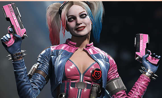 Injustice 2 has microtransactions in the form of Source Crystals
