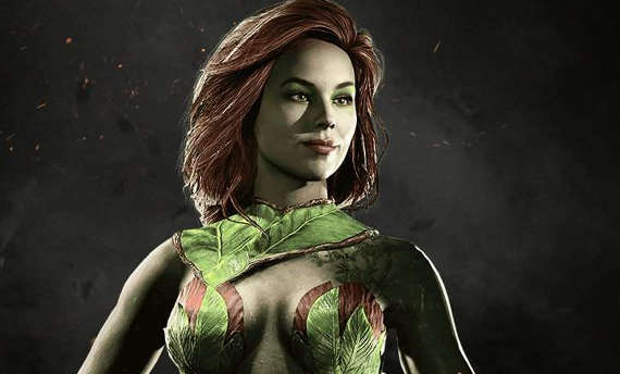 Poison Ivy is a vegan's nightmare in Injustice 2