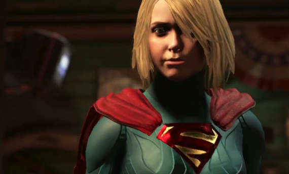 Supergirl disagrees with Superman in the latest Injustice 2 video
