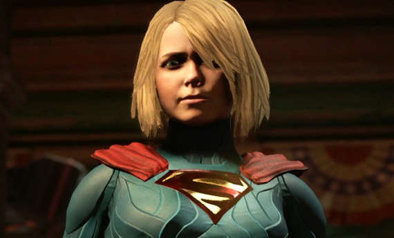 Fly away with Supergirl in Injustice 2