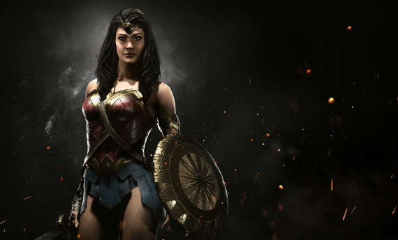 You can get Wonder Woman's movie outfit in Injustice 2