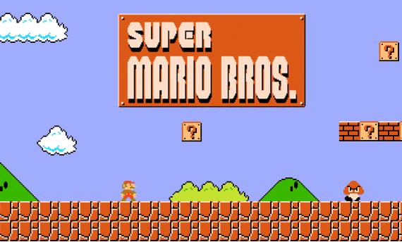 A rare copy of Super Mario Bros. sells for $30,000
