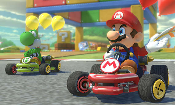 You'll need less than 7GB for the digital version of Mario Kart 8 Deluxe