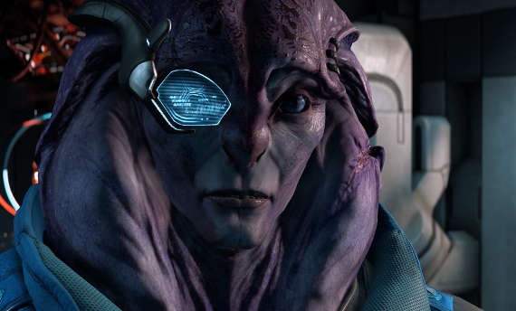 Meet the new alien companion of Mass Effect Andromeda