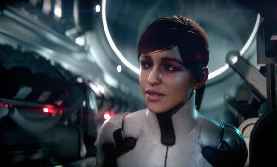 Mass Effect Andromeda gets a heroine-based trailer