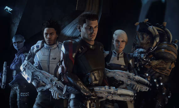 Mass Effect Andromeda - meet the crew, new aliens and your enemy