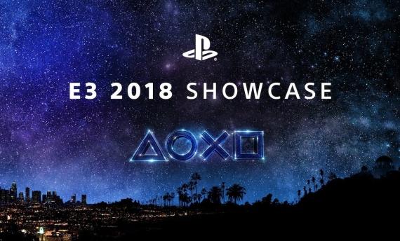 E3 2018 Sony sign