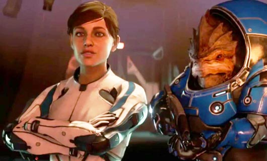 Mass Effect: Andromeda receives a gameplay trailer