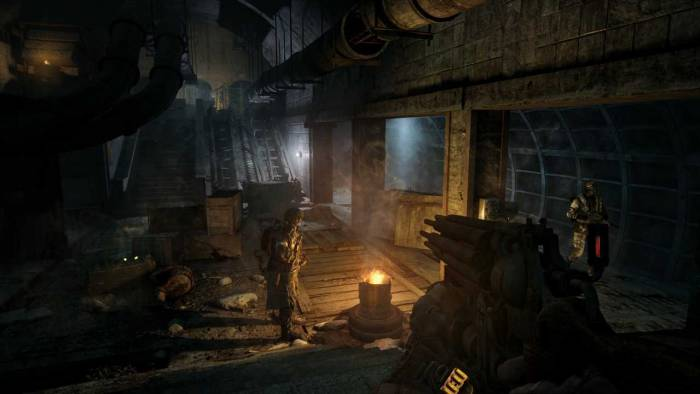metro 2033 final fight graphics support nvidia physx