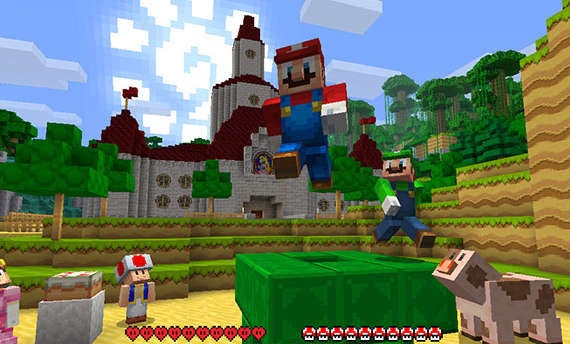 Minecraft: Nintendo Switch Edition launches next month