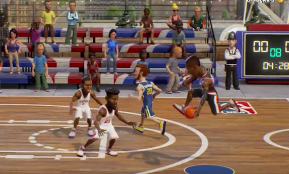 Gameplay trailer for NBA Playgrounds is available