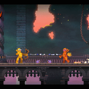 Nidhogg 2 review - Pierce Me Gently
