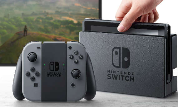Nintendo Switch's unboxing was made with stolen console