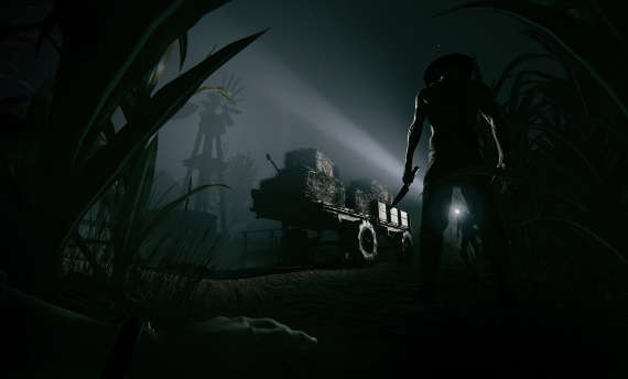 Outlast 2 is a bit easier, but still haunts your dreams
