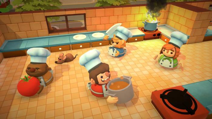 Overcooked 2 co-op gameplay